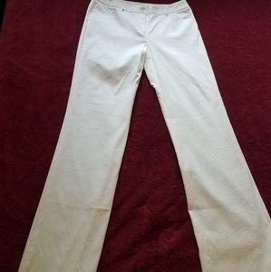 Tahari white pants